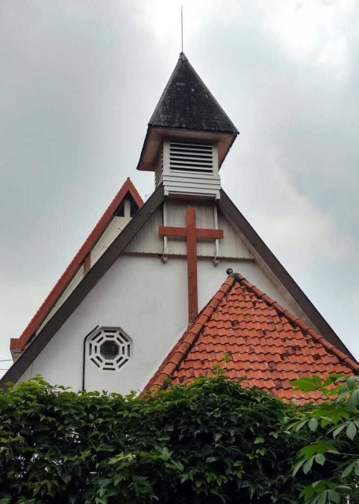 Anglican Church built in 1931.  Now used by the Chinese Reformed Church